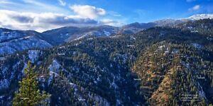 Allison Creek Canyon Salmon River Idaho Mountain Landscape Photo Poster Print