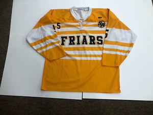 St Anthony's High School Friars Hockey Jersey #5 Xl/TG Yellow Black