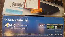 Samsung BD-J6300 BDJ6300 4K UHD Upscaling 3D WiFi Smart Blu-ray DVD Player