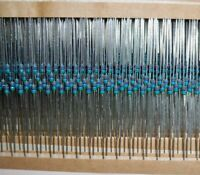10 x 1/8w 0.125W Carbon Film Resistors ±1% 150 Ohms 4.7k 10k 56k