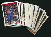 2018-19 Donruss Basketball - Base Singles Pick from List - Quantity Discount