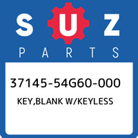 37145-54G60-000 Suzuki Key,blank w/keyless 3714554G60000, New Genuine OEM Part
