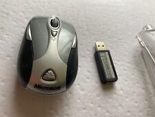 Microsoft Wireless Notebook Presenter Mouse 8000 w/ Receiver & case