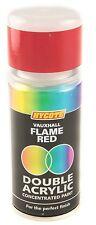Hycote Vauxhall Flame Red Double Acrylic Spray Paint 150Ml Aerosols