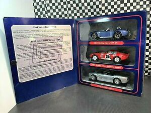 Road Signature -Shelby 427/ Shelby Daytona / Shelby Series 1- 3 Car Set-1:18 MIB