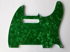 Telecaster American standard pickguard 4ply green pearl fits MIM and USA fender