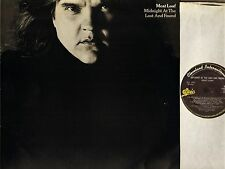 MEAT LOAF midnight at the lost and found EPC 25243 A3/B2 uk epic LP PS EX/EX