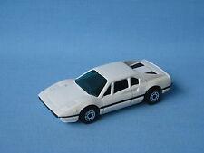 Matchbox Ferrari 308 White Body Green Glass Italian Sports car UB Rare
