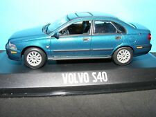 Volvo S 40 in Metallic Blue Polychromatic 2001 model  Minichamps 1:43rd .scale