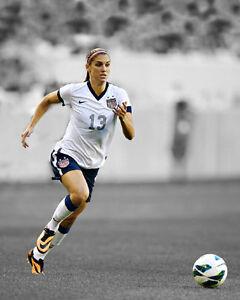 USA Soccer ALEX MORGAN Glossy 8x10 Photo Spotlight Poster FIFA Print Olympics