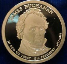 2010-S San Francisco Mint Presidential Dollar James Buchanan Proof