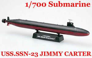 Easy Model 1/700 USS.SSN-23 JIMMY CARTER Submarine Plastic Model #37303
