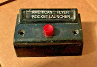 "Am Flyer BILLBOARD ""ROCKET LAUNCHER"" ...BLACK CONTROL BUTTON...OPERATOR QUALITY!"