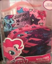 "Hasbro My Little Pony The Stars are Out 64x86"" comforter Reversible Pinkie Pie"
