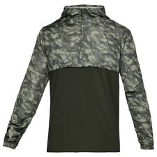 Under Armour Wind Anorak Giacca Uomo Verde (artillery Green/moss Sport