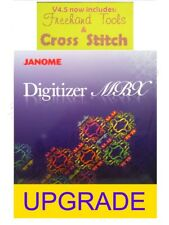 Janome Digitizer MBX Version 4.0 TO 4.5 Embroidery Software UPGRADE NEW~SEALED!