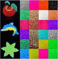 1000pcs 5mm Candy Color Plastic Hama Perler Beads For Educate Kids Child Gift
