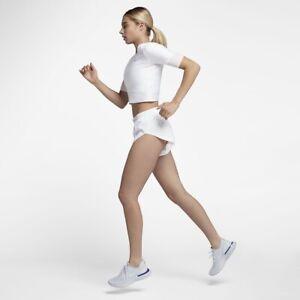 Nike Run Division Hi Cut Running Shorts Small White RRP£80.00