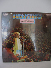 DOLLY PARTON  REAL LIVE DOLLY w/ Porter Wagoner Vinyl Album PROMO USE NEW SEALED