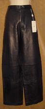ARMANI Collezioni - Classic Black - Soft Genuine Leather PANTS sz 30 *NEW $950