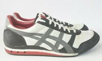 Asics Onitsuka Tiger Ultimate 81 Shoes Charcoal Grey Black Red HN201 Mens 11.5