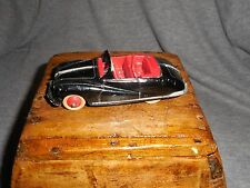Vintage Dinky Toys #106 Austin Atlantic Convertible W/Box Black