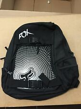 Fox Genuine Branded Batallion Back Pack Ruck Sack Black & White One Size A