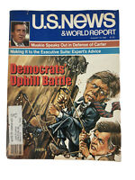 US News and World Report Magazine August 18 1980 Jimmy Carter Kennedy Muskie
