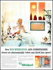 1957 Elegant woman air conditioning Whirlpool vintage photo Print Ad   (ADL10)