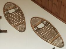 ANTIQUE CANADIAN BEAR PAW TRADITIONAL SNOW SHOES