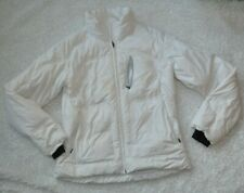 Columbia Women's Sz XL Down Puffy Jacket White READ Extra Large Winter Coat