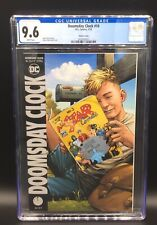 AMAZING DOOMSDAY CLOCK ISSUE 10 VARIANT DC COMIC CGC 9.6 WHITE PAGES WATCHMEN