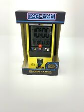 New In Box Paladone Pac Man Digital Alarm Clock Official Game Sounds