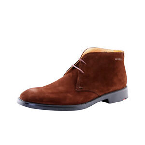 Lloyd David Made in Germany Men's Dress Boot Libra Suede Leather Shoes Brown