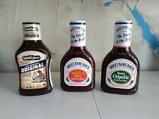 Set 3 x 510 gr salsa barbecue Sweet Baby Ray's Masterpiece BBQ piccante chipotle