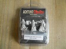 ACHTUNG! CTHULHU - Investigadores de los Aliados 1 - rol - miniaturas 28 mm WWII