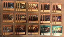 ***COMPLETE NOBLE KNIGHT DECK*** ARTORIGUS IGNOBLE KNIGHT SACRED NOBLE YUGIOH