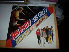 JOHN PANTRY - NOT GUILTY/LIVE WITH FRESH AIR, 11 TRACKS, 1981 (MARSHALLS LP)