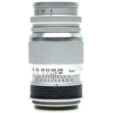 Leica 9cm f4 Elmar SM Lens (Silver)