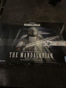 Star Wars The Mandalorian Beskar Armor 1/12 Model Kit BANDAI Brand New