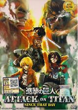 Attack On Titan: Since That Day DVD with English Subtitle