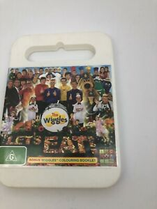 THE WIGGLES - LET'S EAT - DVD Region 4 Very Good Condition FREE SHIPPING