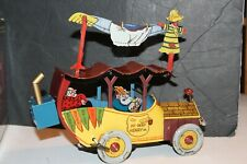 VERY NICE TIN LITHO HI-WAY HENRY WIND UP MECHANICAL CAR by MTH with BOX