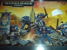Space Marine Command Squad - Warhammer 40k 40,000 Games Workshop Model New!