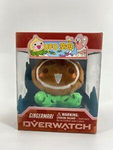 Overwatch Micro Pachimari Plush Gingermari Hanger Key Chain - SHIPS OUT FAST