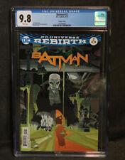 CGC Graded 9.8 WHITE Pages Batman #2 (DC Comics, 9/16)