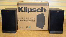 Klipsch RB-51 II 2-Way Bookshelf Speakers (Pair) New in Box Free Shipping