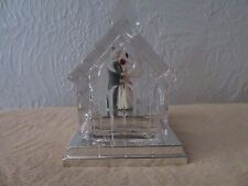 Lenox Diamonds & Pearls Our Wedding 00006000  Day Music Box.Plays Wedding March,Used