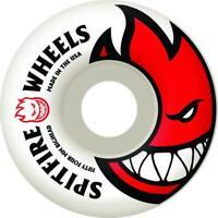 Spitfire Skateboard Wheels Bighead White - 52mm