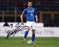 Foto Autografo Calcio Leonardo Bonucci Asta di Beneficenza Soccer Sport Signed